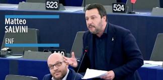 Matteo Salvini - Foto: EU parlamentet