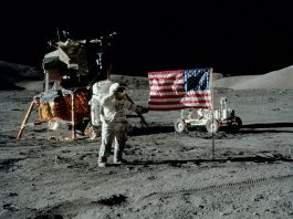 Moon landing 1969 - Foto: NASA, public domain
