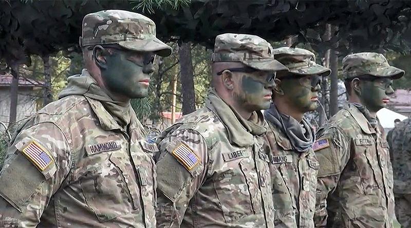 NATO-soldater i Östeuropa, 2017 - Foto: Ruptly
