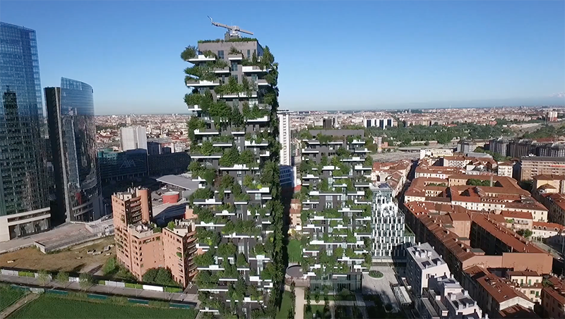 Stefano Boeri designar skogsstäder