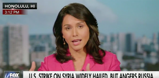 Tulsi Gabbard april 2017 - Foto: FoxNews