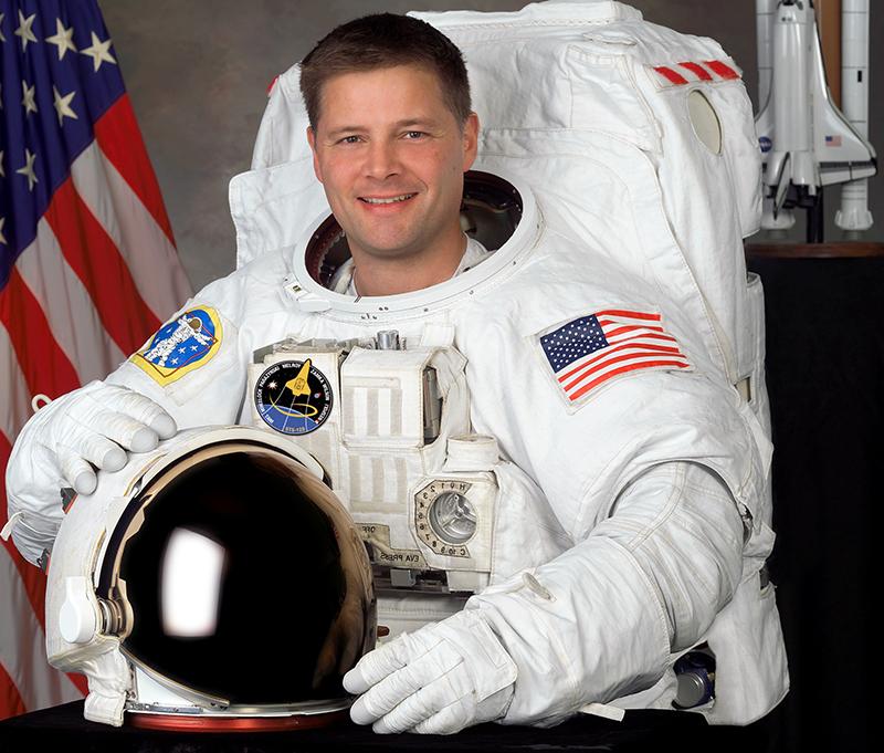 Astronaut Douglas H. Wheelock - Foto: NASA, public domain