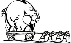 Banker och globalism - Crestock.com