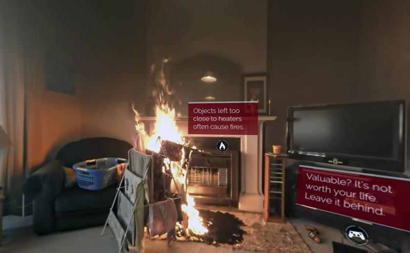 En lägenhetsbrand blir på bara 60 sekunder ett eldkaos - Videokälla: New Zealand Fire Service