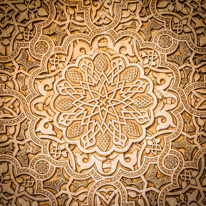 Arabiskt mönster från antiken - Crestock