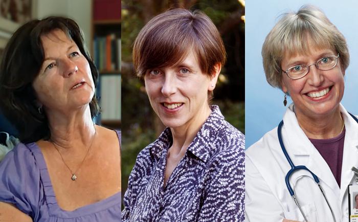 Kollage: Dr Agneta Schnittger, Ingrid Helander och dr Annika Dahlqvist skriver om kolesterolvaccin