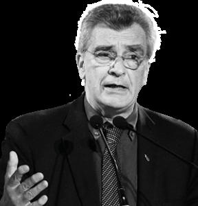 Spyros Galinos, borgmästare på Öesbos, Grekland, pressfoto