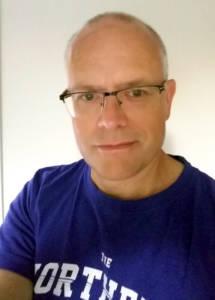 Torbjörn Sassersson, juli 2017, selfie