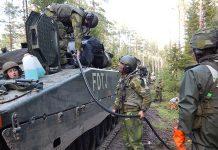 Aurora 17 - Pressfoto: Försvarsmakten