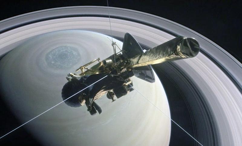 Cassini - Bild: NASA/JPL Caltech