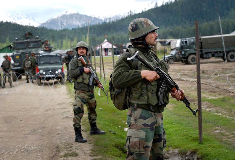 Krisen på Doklam-platån mellan Kina, Buthan och Indien, 2017 - Foto: Dailythanthi.com