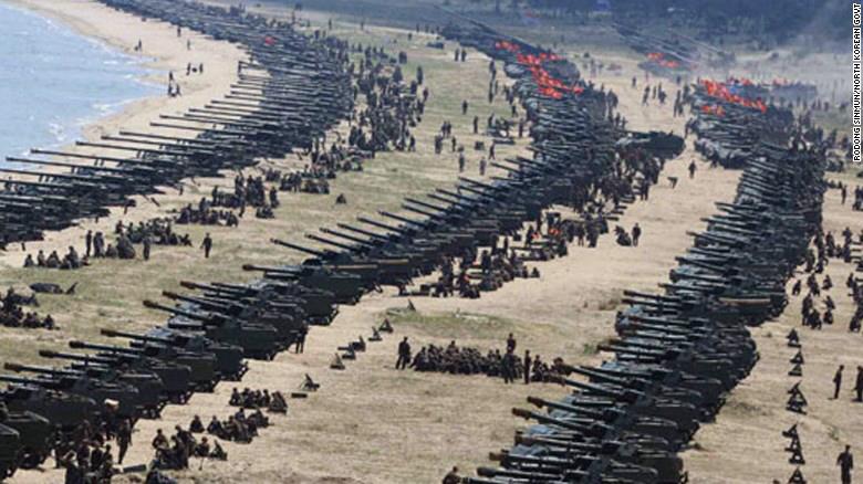 Nordkoreanska styrkor