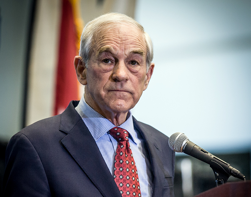 Ron Paul utsatt för ekonomisk censur - Foto:David Carlyon, Wikimedia Commons