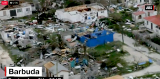 Barbuda 6:e september 2017 - Foto: CNN