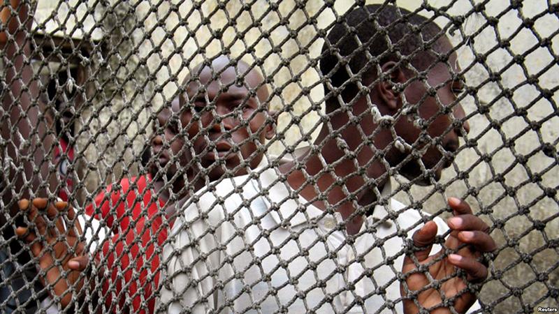 Prisoners in Africa, Douala Central Prison - Foto: Moki Edwin Kindzeka, voanews.com
