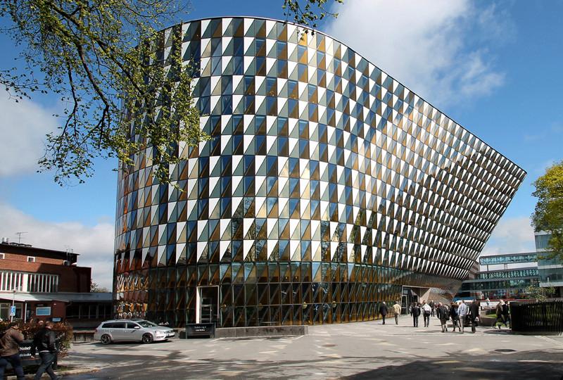 Karolinska Aula Medica - en del av Karolinska Institutet - Pressfoto: Janos Kovacs