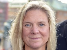 Finansminister Magdalena Andersson (2017)