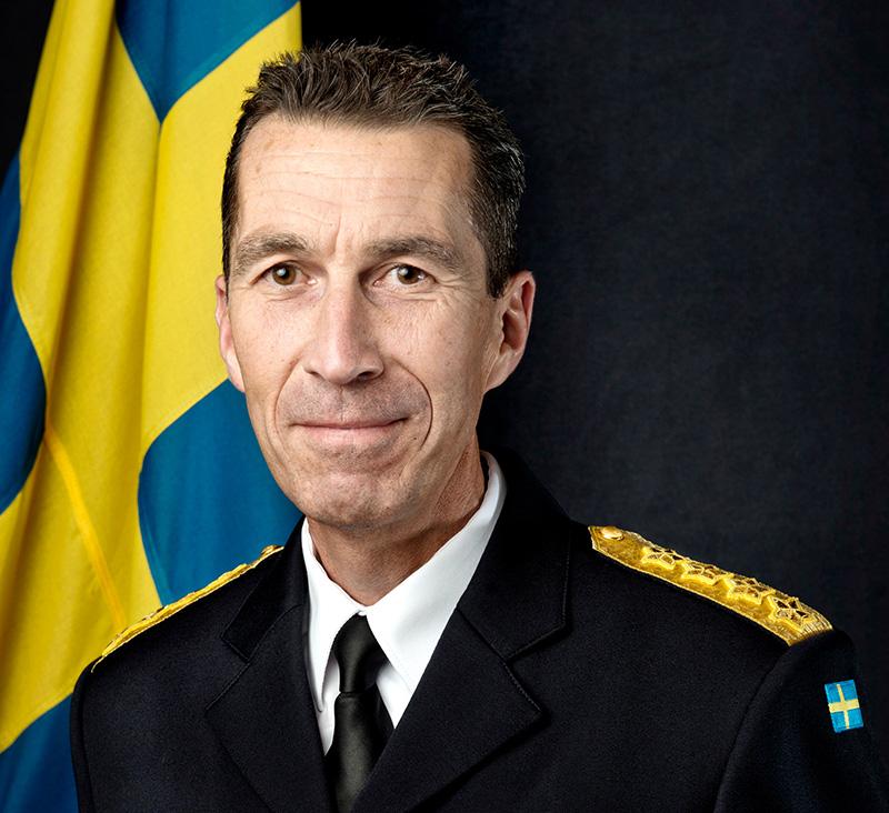 Micael Bydén - Pressfoto: Forsvarsmakten.se