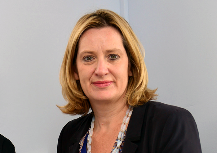 Inrikesminister Amber Rudd - Foto: WorldSkills,   UK CC BY 2.0