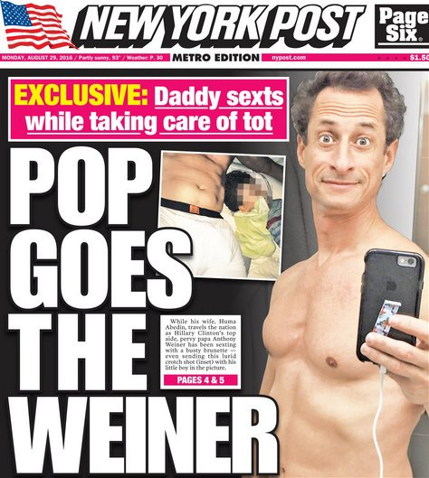 Antony Weiner - New York Post