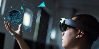 Augmented reality, VR. Licens: Shutterstock.com