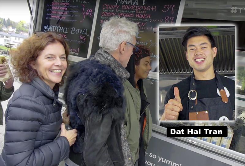 Dat Hai Tran började laga hälsosam thaimat - Foto:,   Arnt-Olav Enger, TV Helse