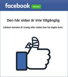 Facebook stängde av NewsVoice-sidan