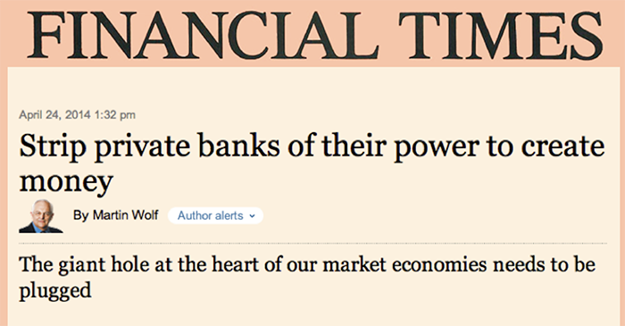 Martin Wolf - Financial Times