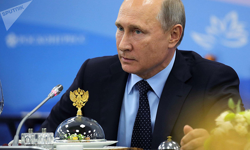 Putin, 2017 - Foto: Michael Klimentyev, Sputnik News