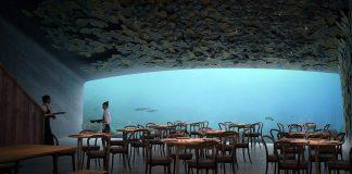 Undervattenshotell - Bild från arkitektfirman Snøhetta