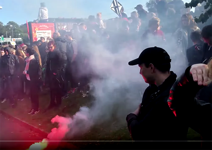 Vänsterextremister, AFA - Foto: Bechir Rabani