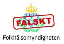 Folkhälsomyndigheten - falskt