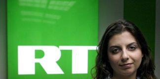 Margarita Simonian chefredaktör på RT - Foto: Arseny Neskhodimov, ITAR, TASS