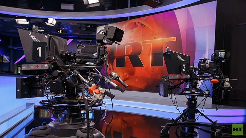 RT.com, studio - Pressfoto