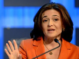 Facebooks operativa chef Sheryl Sandberg, World Economic Forum, 2013 - Foto: Wikimedia Commons