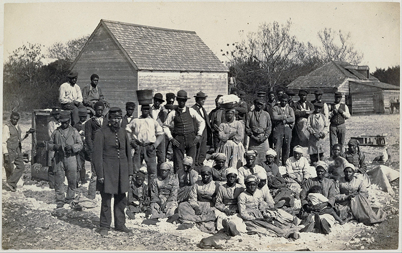 Slaves of General Thomas F. Drayton - Photo: Henry P. Moore