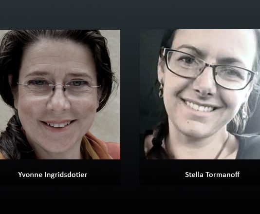 Yvonne Ingridsdotier och Stella Tormanoff
