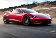 Tesla Roadster 2020 - Pressfoto