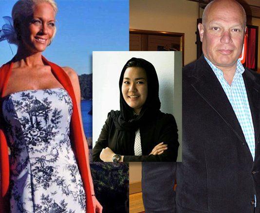 Åsa Westerberg (foto Dissidenter.com) Fatemeh Khavari (Twitter) Robert Aschberg (Wikimedia)