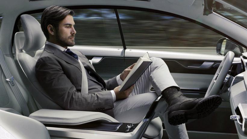 Autonoma bilar - Bild: Volvo.se