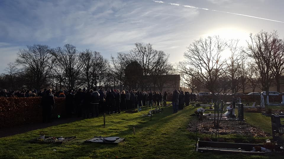 Bechir Rabani begravning 22 december 2017 - Foto: Christina Lagerson