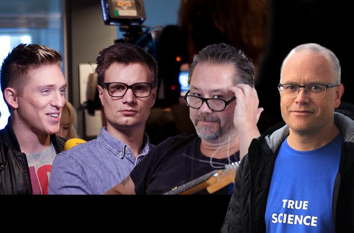 Danny Saucedo (foto Wikimedia), Karl Anders Lindahl (Nyheter25), Torbjörn Sassersson (NewsVoice), Stefan Whilde (privat foto)