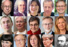Styrelsen i Kungliga Vetenskapsakademin - Pressfoto