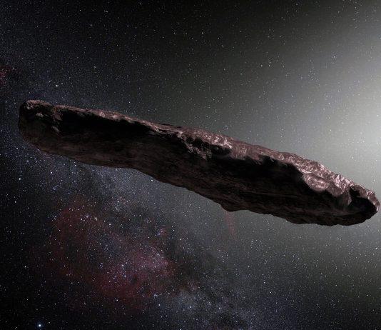 Oumuamua - Bild: ESO, M. Kornmesser, Wikimedia Commons