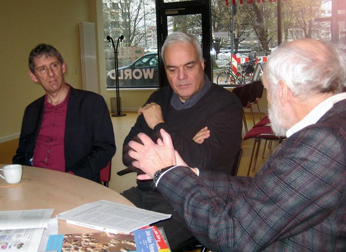 Paul Anthony, Taylor, Matthias Rath, Ingemar Ljungqvist
