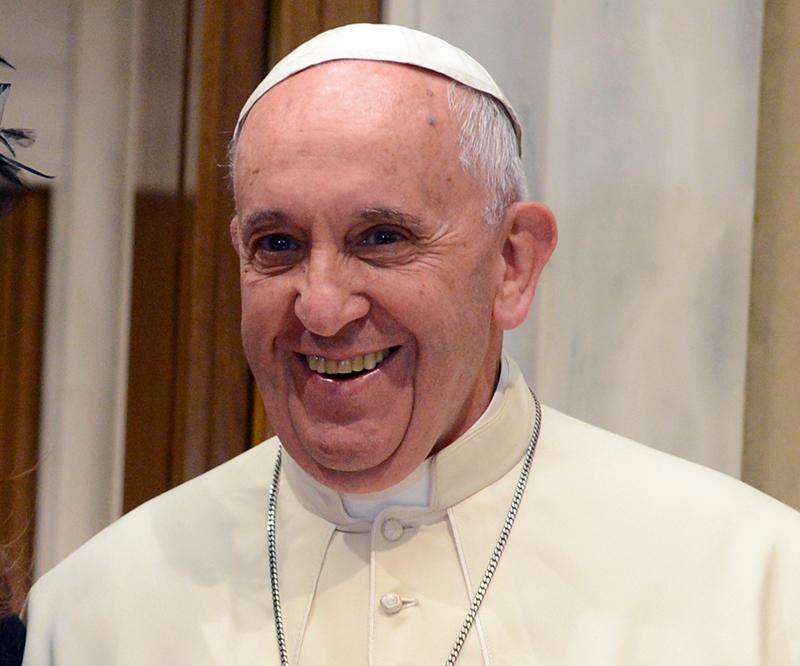 Påve Franciscus, 2015 - Foto: Casa Rosada, Argentina, Wikimedia ommons