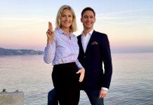 Sanna Ehdin och Daniel Ehdin 2017 - Pressfoto