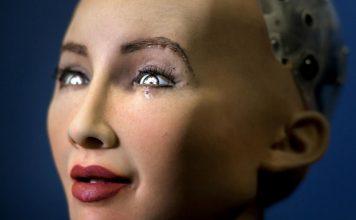Sofia human AI robot