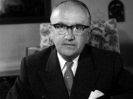Walter Hallstein - Foto: Bundesarchiv B_145, Rolf Unterberg
