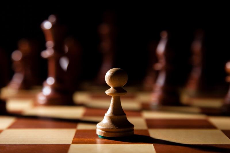 Schack - åsiktsförtryck - Bild: Crestock.com